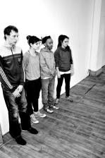 Photo > David Albert-Toth, Geneviève Gagné, Joe Danny Aurélien, Emily Honegger / crédits : Jamie Janx Johnston - Janxologie